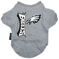 Philadelphia Eagles Dog Tee Shirt - Small