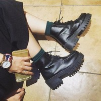 ca DCCKTM4 On Sale Hot Deal Waterproof Thick Crust Dr. Martens Korean Stylish Boots [11192813895]