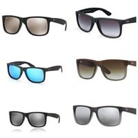 Cheap New Ray-Ban RB4165 55mm Justin Wayfarer Sunglasses-Choose Color outlet