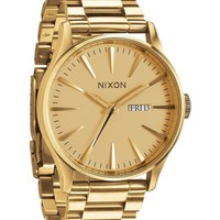 - THE SENTRY SS WATCH BY NIXON IN ALL GOLD