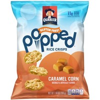 Quaker® Popped® Caramel Corn Rice Crisps 7.04 oz. Bag - Walmart.com