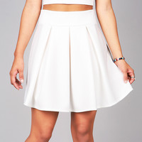 Pleated Skater Skirt   Cute Clothes at Pink Ice
