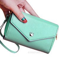 Drop shipping New multifunction women wallet Coin Case purse for iphone Galaxy.case iphone 4/5 wallet carteira card holder BB704