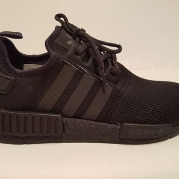 Adidas NMD R1 Runner 3M Triple Black Reflective BY3123 Boost Size 9