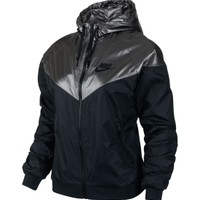 Nike Women's Windrunner Metallic Running Jacket - Dick's Sporting Goods