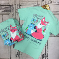 Simply Southern Follow Your Arrow Fox T-Shirt