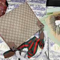 GUCCI new GG printed ladies crossbody bag shoulder bag