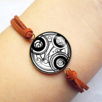 Dr Who masters fob watch glowing vintage Bracelet ready for gifting - buy 3 get 4th one free