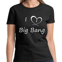 I Love Big Bang KPOP Korea G-Dragon TOP TaeYang Seungri Daesung T-Shirt