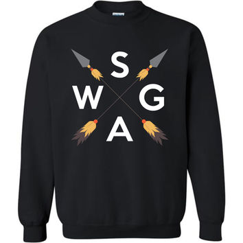SWAG Tribal Arrows - Unisex Graphic Sweatshirt