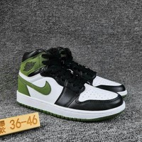 Women's and Men's NIKE Air Jordan 1 generation high basketball shoes  008