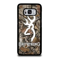 CAMO BROWNING Samsung Galaxy S8 Case Cover