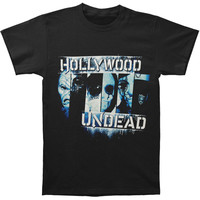 Hollywood Undead Men's  Face To Face 2011 Fall Tour T-shirt Black Rockabilia