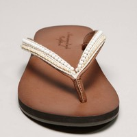 AEO Beaded Flip-Flop   American Eagle Outfitters