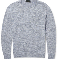 Incotex - Knitted Cotton and Linen-Blend Sweater | MR PORTER