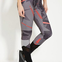Active Abstract Print Leggings | Forever 21 - 2000185894