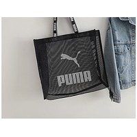 ADIDAS x NIKE x PUMA Fashion Female Gauze Single Shoulder Bag Nike Hot Selling Shopping Bag