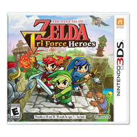 The Legend of Zelda: Tri Force Heroes 3DS Video Game