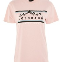 'Colorado' Print T-Shirt