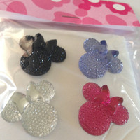 Decorative Minnie Mouse Tacks, Assorted Colors
