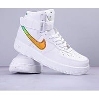 "Nike Air Force 1 Low '07 ""LV8 New fashion laser hook  running couple high top shoes"