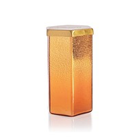 Pumpkin Dulce Ombre Found Glass Candle Hexagon (17 oz)