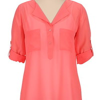 Blouses & Tunic Tops for Women   Cute Peasant Blouses   Maurices