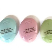 EOS Hand Lotion Pack: Berry Blossom, Cucumber & Fresh Flowers, 1.5 Oz.