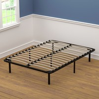 Full Size Wood Slat Bed Frame | Overstock.com Shopping - The Best Deals on Bed Frames