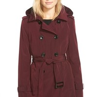 Women's Calvin Klein Double Breasted Trench Coat,