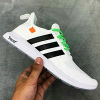 Adidas Vltra Boost Vncaged New fashion couple running shoes White