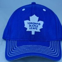 Toronto Maple Leafs Vintage Washed Cotton Twill Cap by American Needle