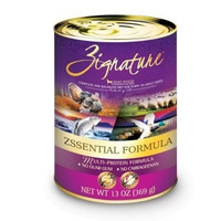 ZIGNATURE CANNED DOG FOOD - ZIGNATURE ZSSENTIAL - 12/13OZ - Pets Global - UPC: 888641131297 - DEPT: OTHER PET FOODS