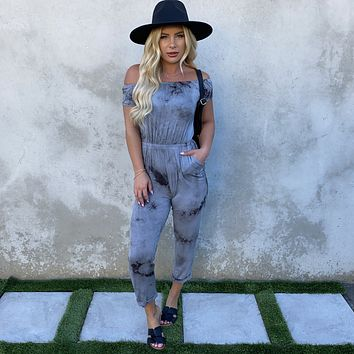Day To Night Tie Dye Jersey Jumpsuit
