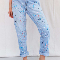 Vintage Paint Splattered Jean - Urban Outfitters