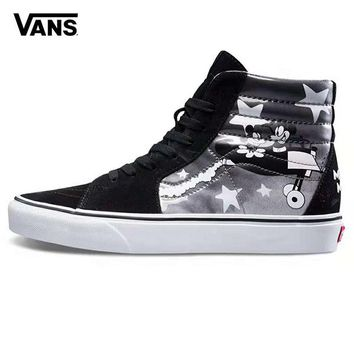 Vans x Mickey Mouse Old Skool Woman Men Fashion Sneakers Sport Shoes