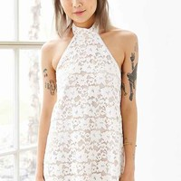 NBD Baby Girl Lace Halter Dress