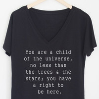 Child of the Universe V-Neck