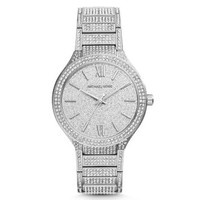 Kerry Pavé Silver-Tone Watch | Michael Kors