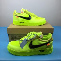 OFF-WHITE x Nike Air Force 1 AO4606-700