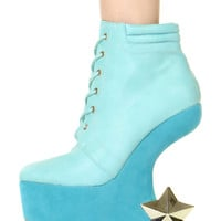 STARRY ILLUSION BOOTIES