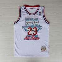 NBA Chicago Bulls #23 Jordan 90-91 All Star Swingman Jersey