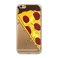 Trendy Pizza Hard Phone Back Cover Case For Apple iPhone 6 6s