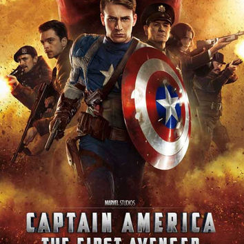 Captain America: The First Avenger (UK) 27x40 Movie Poster (2011)