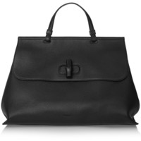 Gucci - Bamboo Daily large textured-leather tote