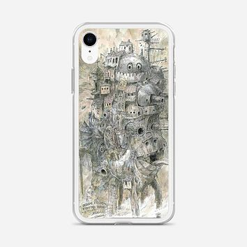 Howls Moving Castle iPhone XR Case