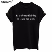 NEW Women T shirt Print  Casual Short sleeve Letters Printing White Black Summer Fashion Top Tees