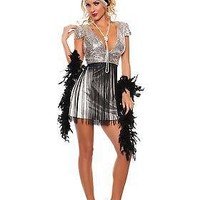 Women's Jazzy Flapper Costume