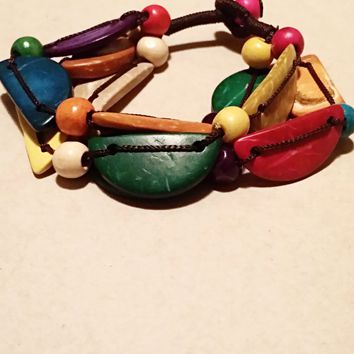 Tropical Bead Bracelet