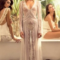 Stone Cold Fox Vermont Gown in White